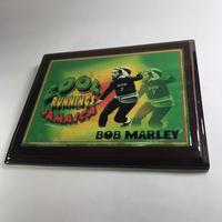 ジャマイカ直輸入!ボブマーリー(BOB MARLEY )島型 壁掛 ウォールデコ 木製