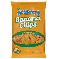 ジャマイカ直輸入!バナナチップス JP  ST MARY'S (少な過ぎない71g)