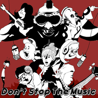 Don't stop the music (CD-R・歌詞・メッセージ)