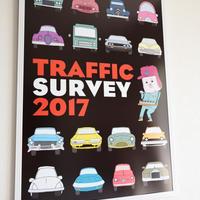 Traffic Survey 2017 ポスター