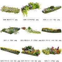 ガーデン素材 9個セット  G9_024