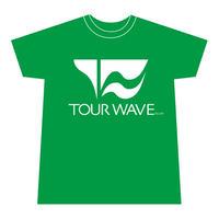 ツアー・ウェーブ オリジナル Tシャツ(グリーン)【予約商品/10月下旬~11月上旬発送予定】