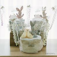 『usaco』おむつケーキ♡出産祝いギフト(カラー・おむつサイズ選べます)