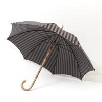 MARIO TALARICO 傘(ネイビー×ゴールドストライプ)