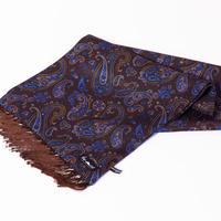 THE MOST ≪ADAMLEY DAVID EVANS&CO.別注≫ 英国製シルクチューブラースカーフ⑤