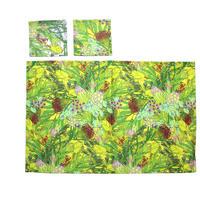 ランチョンマット&コースターセット-Wild flowers-