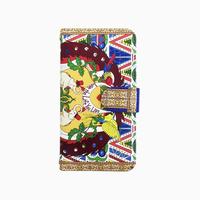 Smartphone case -love-  ミラー&チェーン付きタイプ