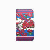 Smartphone case-Bonvoyage-ミラー&チェーン付きタイプ
