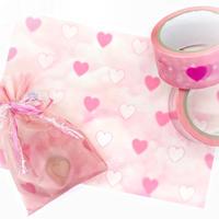 No.56 pink dreamy heart tracing pepar