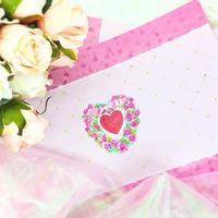 №40 Valentine rose pepar