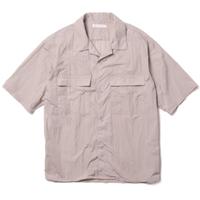 """ROTOL ロトル """"H/S OPEN COLLAR SHIRT-NYLON"""" 半袖オープンカラーシャツ ナイロン"""
