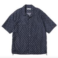 """ROTOL ロトル """"H/S OPEN COLLAR SHIRT-HEXAGON"""" 半袖オープンカラーシャツヘキサゴン"""