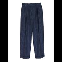 "elephant TRIBAL fabrics エレファントトライバルファブリックス ""GURKHA EASY PANTS-STRIPE"" グルカイージーパンツ-ストライプ"
