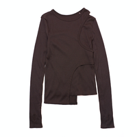 """Name.ネーム """"RIBBED LAYERED TOP"""" リブドレイヤードトップス"""