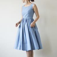 mama dress(ブルー素材変更)2017SS016