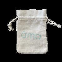 【ama】バーム用サイズ リネン巾着