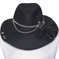 SEXPOT ReVenGe BLUE ROSE コサージュ BRIM ハット