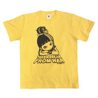"""ミカヅキ   TAKE A BREAK """" face """" Tシャツ [ T-012 ]"""