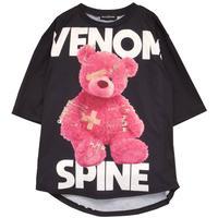 HELLCATPUNKS  HCP-T-0126 VENOM SPINE Tシャツ