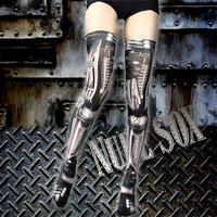 Nude  SOX  MDN-003 Mad Science knee high socks<機械/Machine>