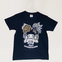 """ミカヅキ  """"TWO FACEDNESS"""" Tシャツ[ T-005 ]"""