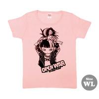 """ミカヅキ   """" OPEN WAR """" Tシャツ [ T-010 ]"""