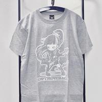 """ミカヅキ   """"DON'T MOVE BACK""""  Tシャツ [T-003]"""