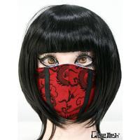 Qutie Frash 7769-AC  ファッションマスク ドラゴンサテン