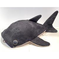 KASEI/カセイ 小サメ リュック  フェイクレザー 黒