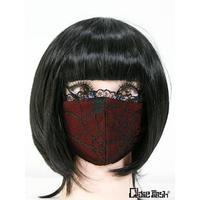 Qutie Frash 7759-AC  ファッションマスク 蜘蛛メッシュ2Pset