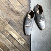 【U-112-32】OXFORD ( CRACKING SILVER )