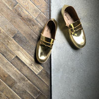 【U-807-10】LOAFER  ( FOILED GOLD )