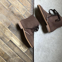 【U-807-09】 5 HOLE BOOTS (SUEDE BROWN)