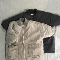 LAST1 / 50%OFF SALE / back fleece cotton jacket