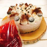 3月のケーキ【苺チョコレアチーズ】送料込み(冷凍便)