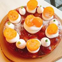 1月のケーキ【金柑タルト】送料込み