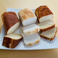 ◎グルテンフリーパン 3種セット      6㎝×12㎝×5cm  ×3種