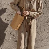 knit allinone (beige)