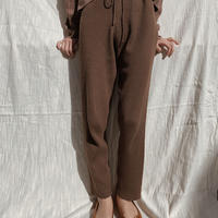knit leggings pants/brown