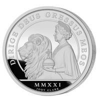 ※11月下旬発送予定 【NGC70確定】ウナとライオン 2019 オルダニー島 2オンス銀貨 シルバー プルーフコイン 2021 Alderney Una Lion 2oz Silver Coin