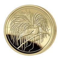 2020 パプアニューギニア 極楽鳥 100キナ 1/4オンス 金貨 プルーフコイン PCGS PR70DCAM Papua New Guinea Bird of Paradise