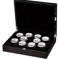 【10枚セット】 2021 クイーンズビースト 2オンス銀貨セット プルーフコイン シルバー QUEEN'S BEASTS completer 2oz Silver proof coin