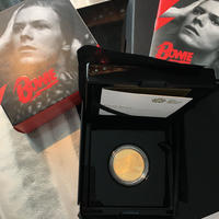 デビッドボウイ ミュージックレジェンド 1オンス 100ポンド金貨 ゴールド プルーフコイン David Bowie 2020 UK 1oz Gold Proof Coin