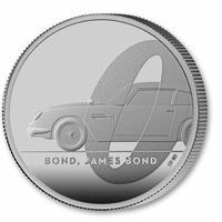 【第1貨・1オンス銀貨】007 ジェームズボンド 2ポンド銀貨 プルーフコイン シルバー ロイヤルミント 2020 Royal Mint  £2 1oz Silver James Bond