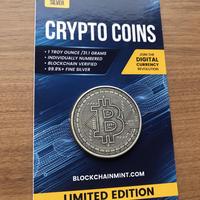 ビットコイン チャド共和国 CFAフラン 1オンス 銀貨 シルバ  仮想通貨 暗号通貨 クリプトコイン アンティークコインタイプ Chad Crypto Coins Series Bitcoin