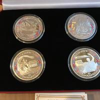 【新品】2020 東京オリンピック 記念コイン 2000組限定 10ドル 4枚セット 銀貨 イギリス領ヴァージン諸島 BVI TOKYO Olympic