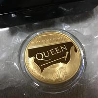 ミュージックレジェンズ クイーン 1オンス金貨 100ポンド プルーフコイン ゴールド 2020年 英国 ロイヤルミント