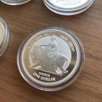 【1オンス・1枚】ウナとライオン 2019 イギリス領 ヴァージン諸島 1ドル銀貨 1oz コイン 英国 BVI シルバー