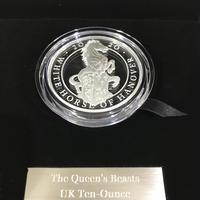 【新品】10オンス 2020 ロイヤルミント クイーンズビースト コイン 銀貨 10ポンド The Queen's Beasts coin 10oz 180枚限定