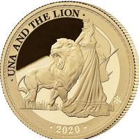 2020 ウナとライオン セントヘレナ 1オンス金貨 プルーフコイン 200枚 ヴィクトリア女王 アンティークコイン イギリス 英国 東インド会社